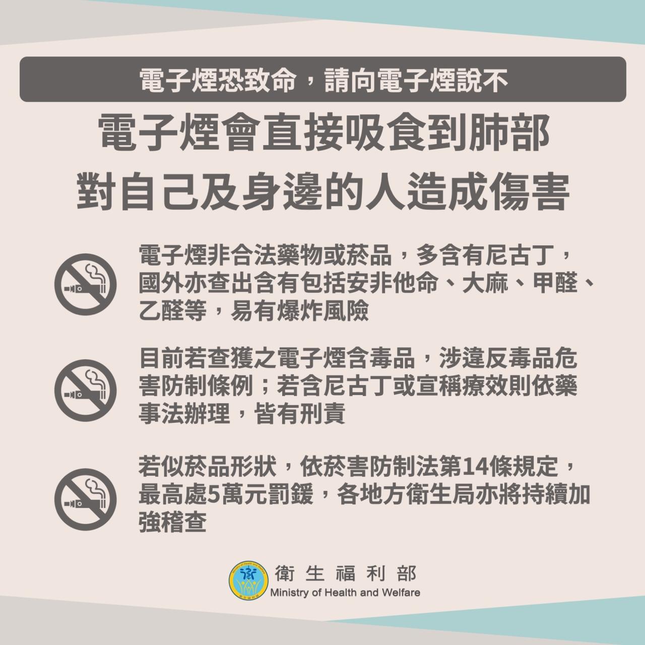 南安國中108年電子煙防治宣導
